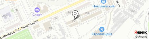 Частный Дом на карте Чебоксар