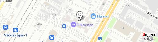 BamBook на карте Чебоксар
