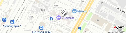 КС-Сервис на карте Чебоксар