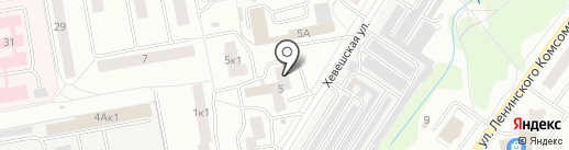 Дельта на карте Чебоксар