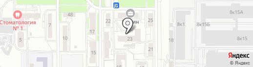 23, ТСЖ на карте Чебоксар
