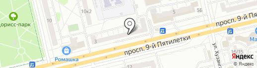 Мастерская на карте Чебоксар