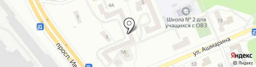 Керамик, ТСЖ на карте Чебоксар