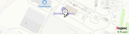 Богатырь на карте Чебоксар