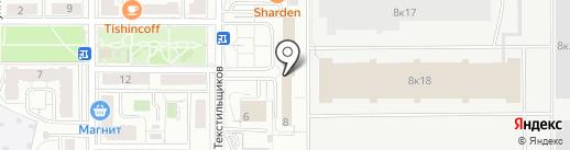 Технопоиск на карте Чебоксар