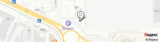 Центр тепла на карте Чебоксар