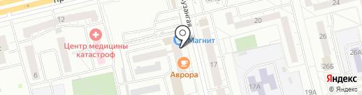 ХИМБЫТ на карте Чебоксар