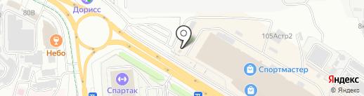 Сити Бокс на карте Чебоксар