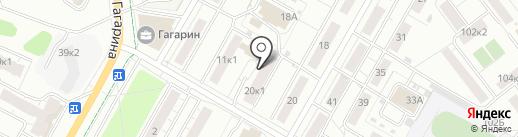 Гранд на карте Чебоксар