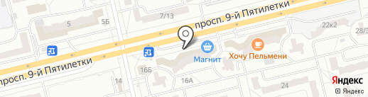 Почта банк, ПАО на карте Чебоксар