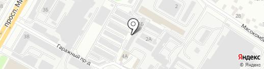 АКПП21 на карте Чебоксар