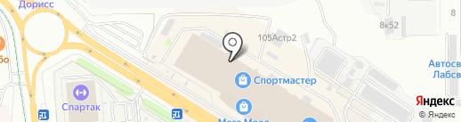 Каприз на карте Чебоксар