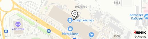 Barelli на карте Чебоксар