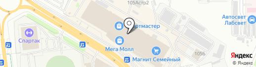 БутерБро на карте Чебоксар