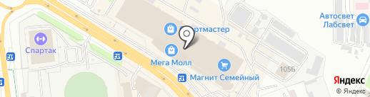 Фреш-бар на карте Чебоксар