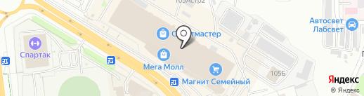 BrandMix на карте Чебоксар