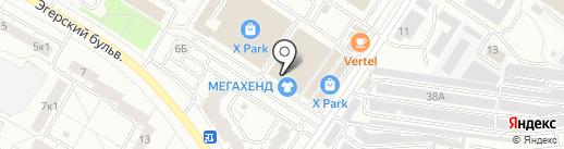 Магазин канцтоваров на карте Чебоксар
