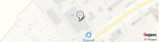 Зодчий центр на карте Кугесей
