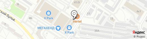 Крепеж на карте Чебоксар