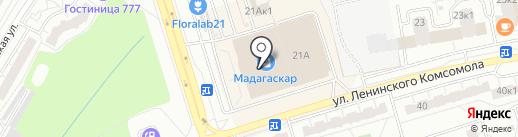Вау Ваф на карте Чебоксар