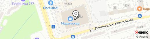 Перспектива на карте Чебоксар