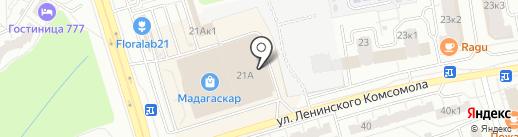 Acoola на карте Чебоксар