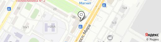 Мастерская по ремонту компьютерной техники на карте Чебоксар