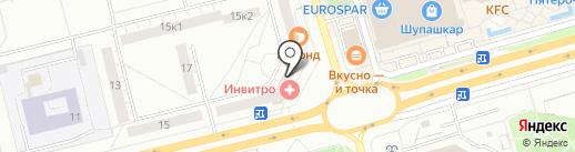 Фотосалон на карте Чебоксар