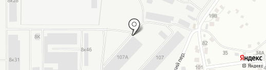 АвтоСнаб на карте Чебоксар