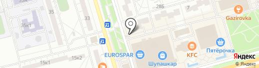 Киоск по продаже овощей, фруктов на карте Чебоксар