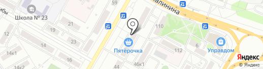 Мастерская по ремонту одежды и кожгалантереи на карте Чебоксар