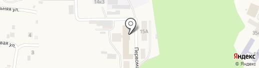 Кугесьский дом-интернат для престарелых и инвалидов, БУ на карте Кугесей