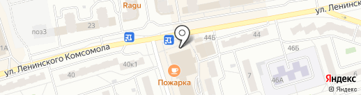 Лилу на карте Чебоксар