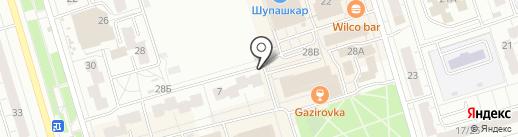 Мастерская по ремонту обуви на карте Чебоксар