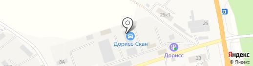 Грузовая шиномонтажная мастерская на карте Кугесей
