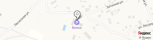 Волна на карте Чебоксар