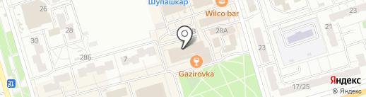 САБИНА на карте Чебоксар