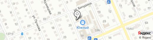 Магазин автозапчастей на карте Чебоксар
