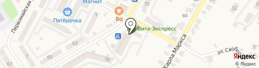 СК Дэкс на карте Кугесей