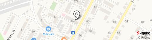 Кроха на карте Кугесей