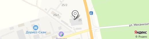 Вилан на карте Кугесей