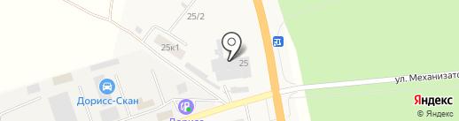 Стортекс на карте Кугесей