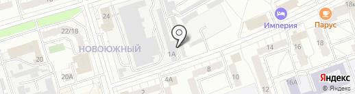 Авточасти на карте Чебоксар