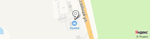 Арива на карте Кугесей
