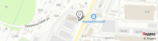 ГРАНЬ КЕРАМИКА на карте Чебоксар