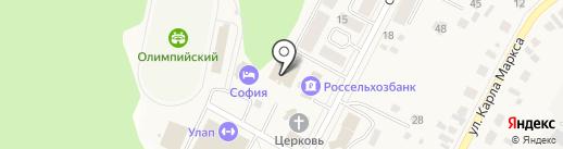 Фонд социального страхования РФ на карте Кугесей