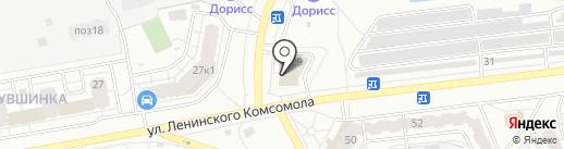 Тепломир на карте Чебоксар