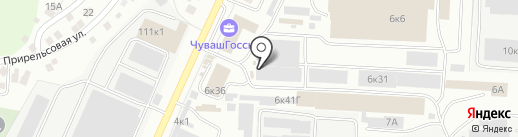 ВИСТЕК на карте Чебоксар
