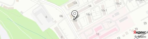 Азамат-2 на карте Чебоксар