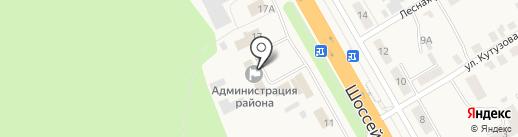 Администрация Чебоксарского района на карте Кугесей